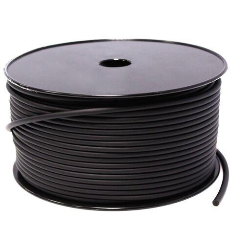 BeMatik - Bobina cable de audio altavoz 2x0.75mm 18GA 100m