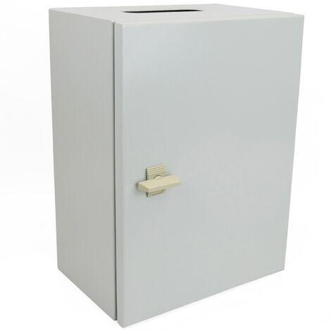 BeMatik - boîte de distribution électrique en métal IP65 pour montage mural 300x200x150mm