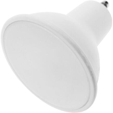 BeMatik - Bombilla LED dicroica GU10 230VAC 4W 120° 50mm luz neutra 4000K
