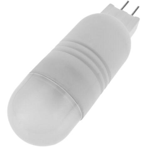 BeMatik - Bombilla LED G4 bipin 12VDC 2W luz día