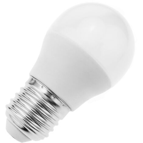 BeMatik - Bombilla LED G45 E27 230VAC 3W luz verde