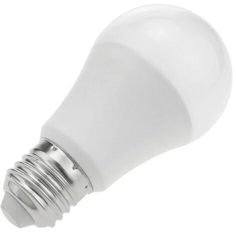BeMatik - Bombilla LED G70 E27 230VAC 9W luz cálida 3000K