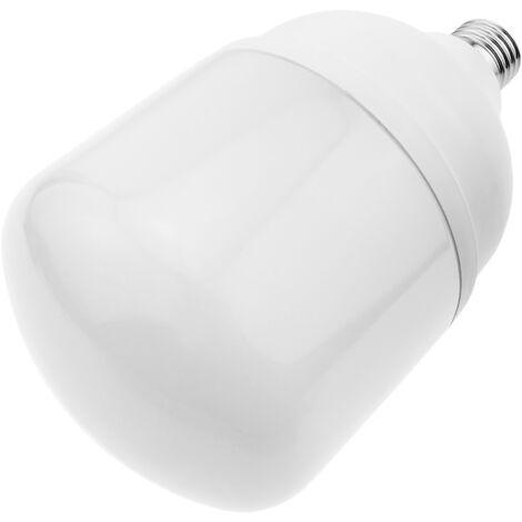 BeMatik - Bombilla LED industrial de alta potencia T140 50W E27 6500K luz de día