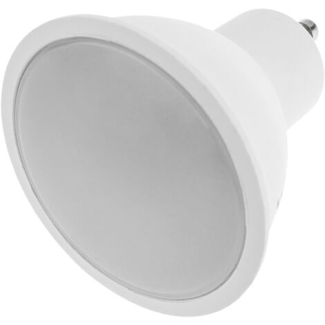 BeMatik - Bombilla LED inteligente multicolor inalámbrica ajustable GU10 4W 3000K-6500K compatible con Google Home, Alexa y IFTTT