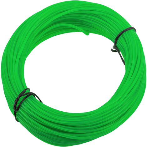 BeMatik - Cable 2.3mm soft green electroluminescent coil 25m