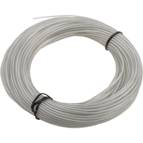 BeMatik - Cable 2.3mm white electroluminescent coil 25m