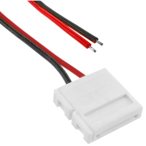 BeMatik - Cable connector for pressurized with monochrome LED strip 12mm