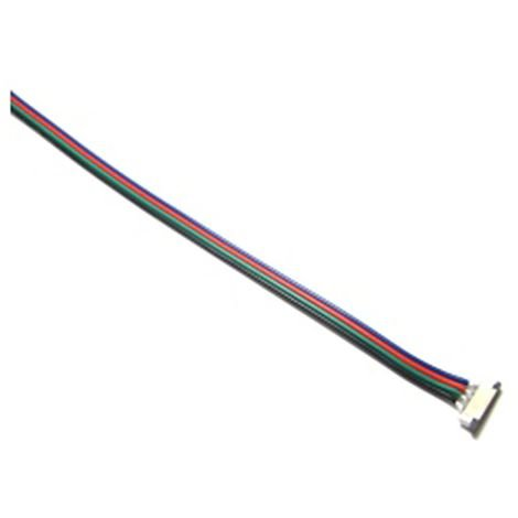 BeMatik - Cable connector for RGB LED strip of 10 mm