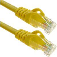 BeMatik - Cable de red ethernet LAN UTP RJ45 Cat.6a amarillo 1 m