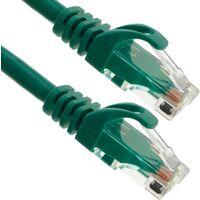 BeMatik - Cable de red ethernet LAN UTP RJ45 Cat.6a verde 50 cm