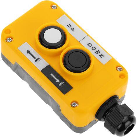 BeMatik - Caja de 2 pulsadores momentaneos de la serie LAY5