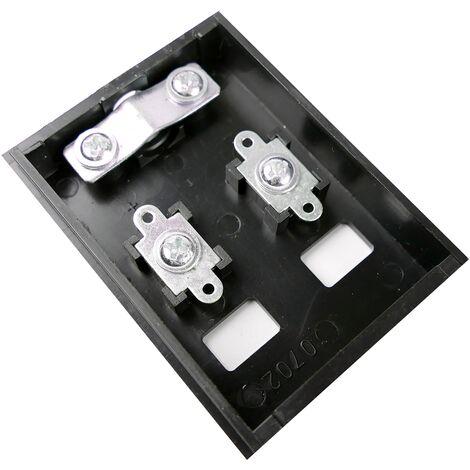 BeMatik - Caja de conexión eléctrica solar fotovoltaica 30W