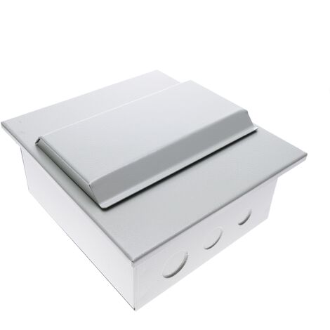 BeMatik - Caja de distribución eléctrica de 6 módulos 17.5 mm IP40 para empotrar de metal SPN