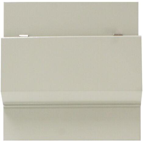 BeMatik - Caja de distribución eléctrica de 8 módulos 17.5 mm IP40 para empotrar de metal SPN