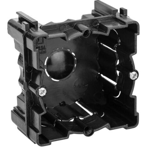 Caja de empotrar 66x66mm cajet/ín de Conexiones el/éctricas BeMatik