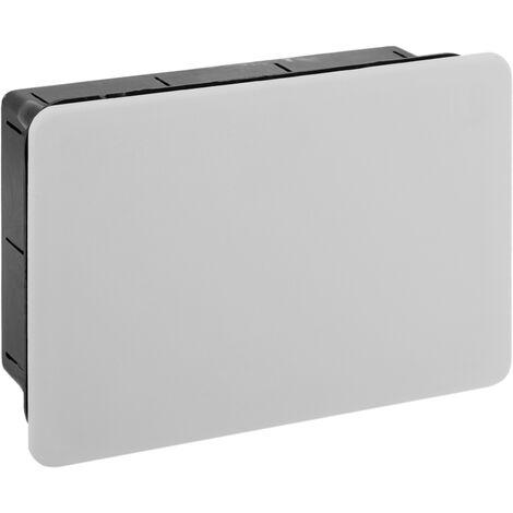 BeMatik - Caja empotrada de registro eléctrico rectangular 160x100x50mm