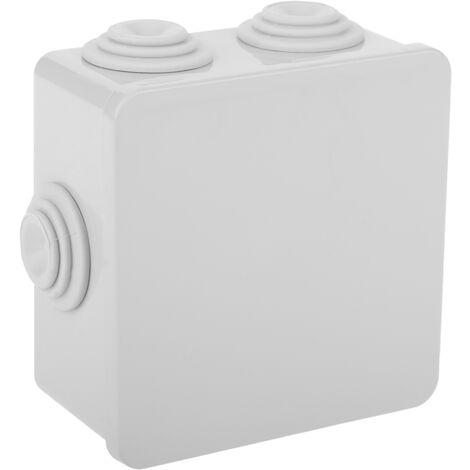 BeMatik - Caja estanca de superficie cuadrada IP44 80x80x36mm