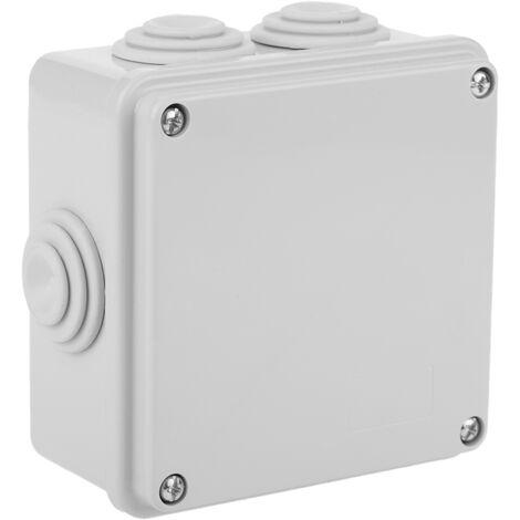 BeMatik - Caja estanca de superficie cuadrada IP56 100x100x45mm