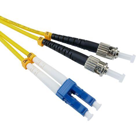 OM3 3m cavo a fibre ottiche Verde SC-ST Goobay 50//125
