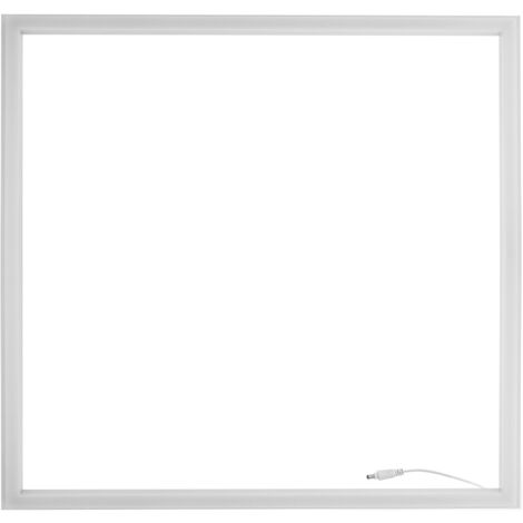 BeMatik - Ceiling LED panel warm light 36W 4000-4500K. Registered ceiling frame 60x60 cm