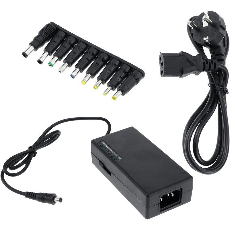 BeMatik Chargeur et alimentation Adaptateur universel pour ordinateur portable 12 24 VDC 96W 5A