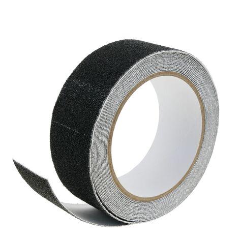 BeMatik - Cinta adhesiva antideslizante para suelo de ancho 40mm en bobina de 5m