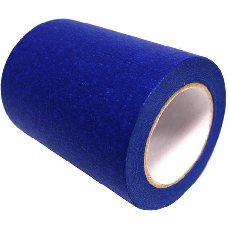 BeMatik - Cinta adhesiva azul croma 150mmx50m