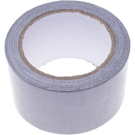 BeMatik - Cinta adhesiva impermeable americana de 50mm x 10m gris