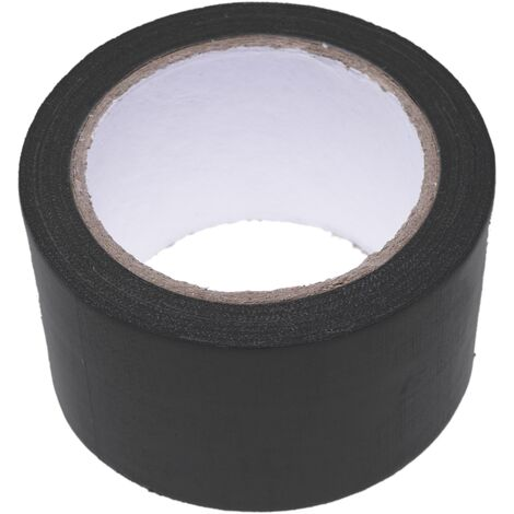 BeMatik - Cinta adhesiva impermeable americana de 50mm x 10m negra
