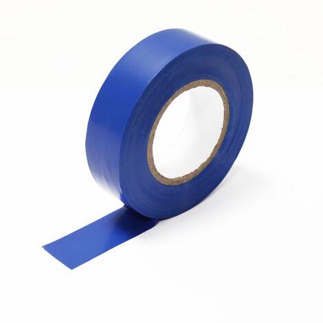 BeMatik - Cinta aislante azul de 0,15x19mm en bobina de 20m