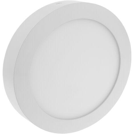 BeMatik - Circulaire du panneau LED 12W surface de 170mm Spot blanc chaud