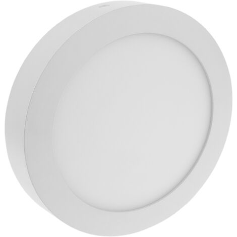 BeMatik - Circular LED Panel 12W 170mm surface downlight warm white