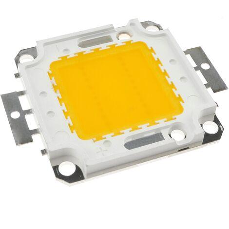 BeMatik - COB LED DIY 20W 1600LM 4000K white light emitting neutral 40x55mm