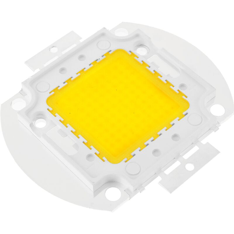 COB LED FAI DA TE 100W 8000LM 4000K Trasmettitore di luce bianca neutra 35 x 35 mm - Bematik