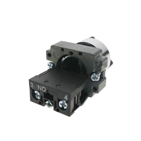 commutateur rotatif non-lumineux auxiliaire Ø 22mm 2 posit° Commande moteur