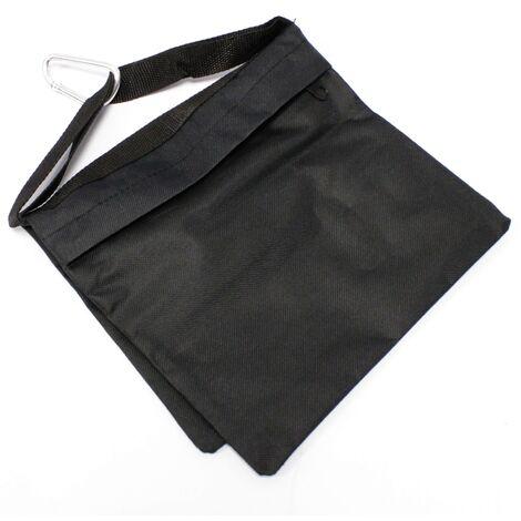 BeMatik - Contrapeso de bolsa de arena negra