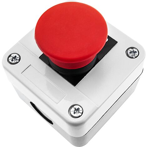 """main image of """"BeMatik - Control box with emergency stop push button without lock NC STOP"""""""