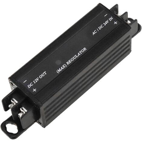 BeMatik - Conversor de alimentación 24V AC/DC a 12VDC 1A
