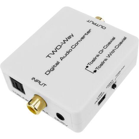 BeMatik - Conversor y repetidor de audio digital (TosLink a Coaxial)