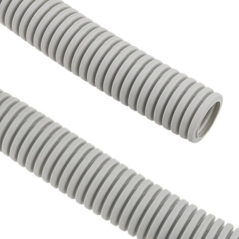 BeMatik - Corrugated tube LHA M-16 100 m Gray