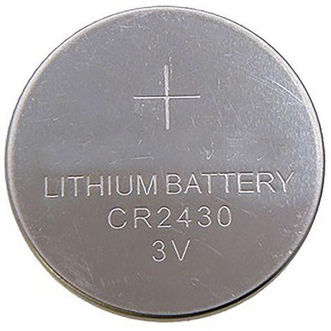 BeMatik - CR2430 Pile au lithium 3V