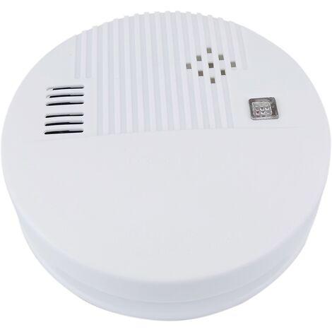 BeMatik - Detector de humo autónomo con indicador LED y alarma