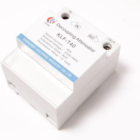BeMatik - Dimmer accoppiatore 40A 220/380V 36 millimetri guida DIN