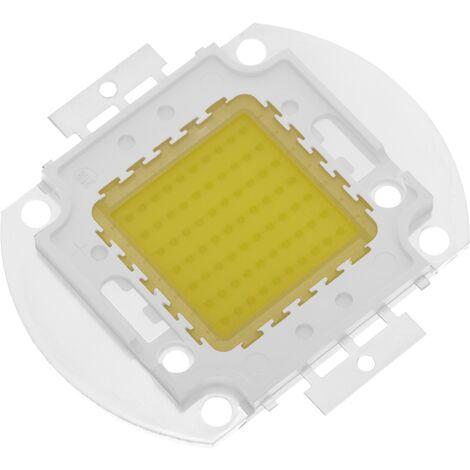 BeMatik - DIY LED COB 70W 5600LM 6000K white light emitting day 40x55mm