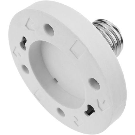 BeMatik - E27 to GX53 adapter lamp light