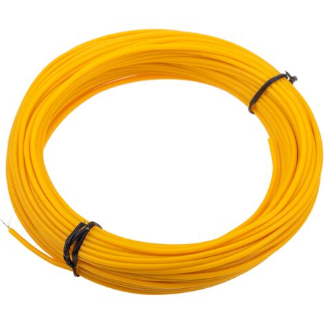 BeMatik - Electroluminescent wire coil 2.3mm gold 25m
