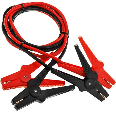 BeMatik - Emergency cables with clamps for car battery 500 A