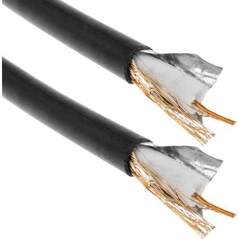 BeMatik - enrouleur de câble coaxial RG59 de 100m