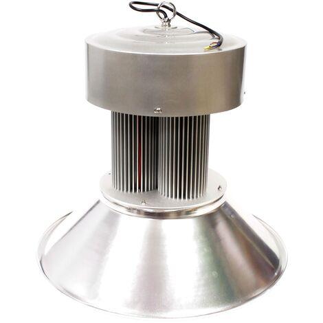 BeMatik - Epistar LED 150W industrielle lampe chaude 495x460mm blanc