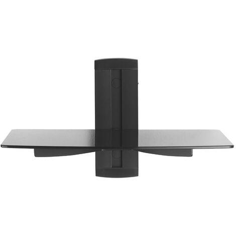 BeMatik - Estanteria simple de TV para fijar a pared 38x28cm